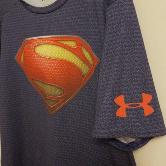 9313af8f Under Armour superman compression heatgear shirt. M_5b64f73ac89e1db67f83e696